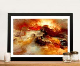 Buy Heavens Inferno Quality Canvas Art