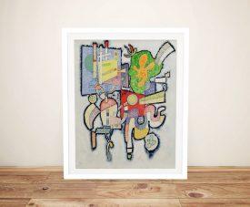 Complexité Framed Wassily Kandinsky Art