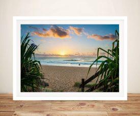 Kings Beach Framed Noel Buttler Artwork