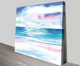 TurquoiseSea l Canvas Seascape Artwork