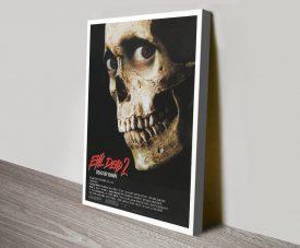 Evil Dead ll Vintage Horror Film Poster