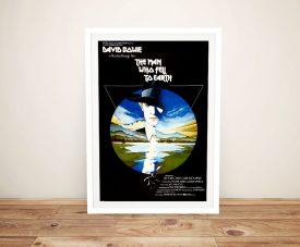Framed David Bowie Retro Movie Poster Art