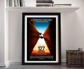 Buy 127 Hours Framed Movie Poster Print