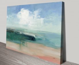 Buy Big Clouds from the Shore Abstract Art