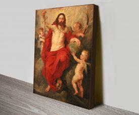 Christ Triumphant Over Death & Sin Canvas Art