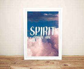 Buy Spirit Guide Me Spiritual Wall Art
