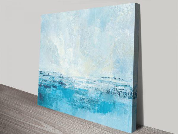 Coast View ll Stretched Canvas Seascape Art