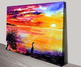 Buy Colours of Sunset Linda Callaghan Print