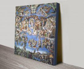 Buy The Last Judgement Print on Canvas