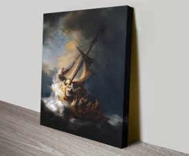 The Storm on the Sea of Galilee Rembrandt Art