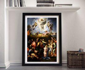 The Transfiguration Classic Raphael Art Print