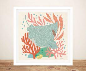 Buy Under the Sea lV Framed Nautical Art