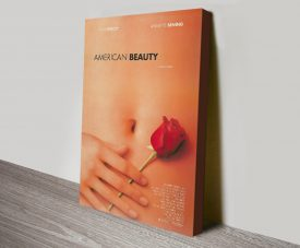 American Beauty Movie Poster Print on Canvas