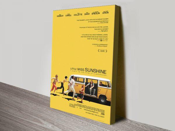 Little Miss Sunshine Stretched Canvas Online