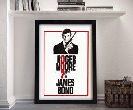 Buy a Framed Live & Let Die Movie Poster