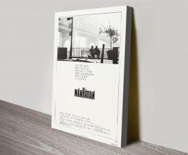 Manhattan Classic Woody Allen Movie Poster