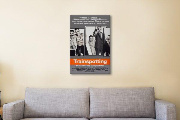 Trainspotting Poster Affordable Framed Art AU