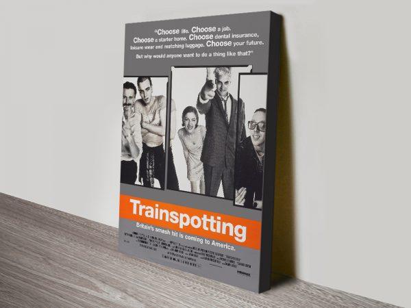 Trainspotting Poster Affordable Framed Art
