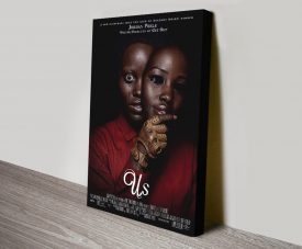Us Stretched Canvas Movie Poster Print