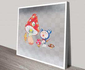 Hoyoyo Takashi Murakami Print on Canvas