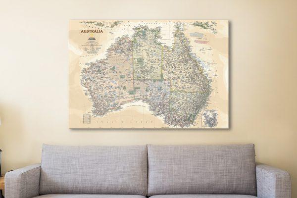 Nat Geo Map of Australia Great Gifts AU