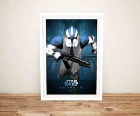 Star Wars Episode lll Stormtrooper Wall Art
