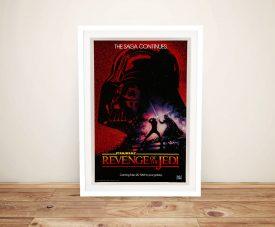 Darth Vader Return of the Jedi Film PosterDarth Vader Return of the Jedi Film Poster