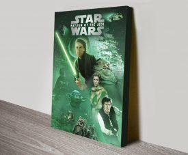 Buy a Star Wars Episode Vl Canvas Poster