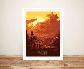 Buy a Framed The Force Awakens Art Print