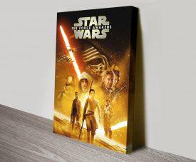The Force Awakens Star Wars Film Poster