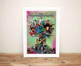 Suicide Squad Framed Film Poster Artwork