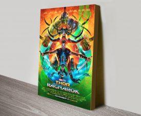 Thor Ragnarok Film Poster Canvas Art