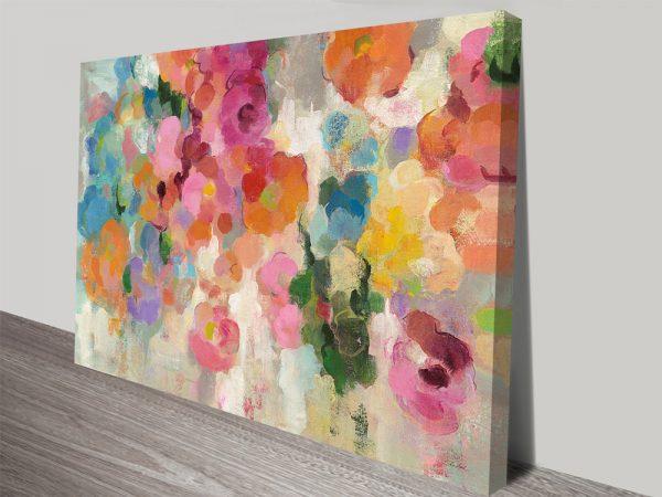 Colourful Garden Silvia Vassileva Canvas Art