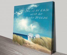 Buy A Perfect Day Ocean Breeze Canvas Art