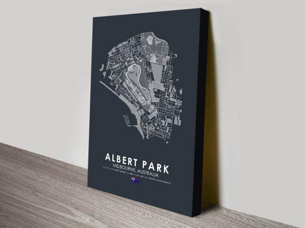 Albert Park Melbourne Ready to Hang Art AU