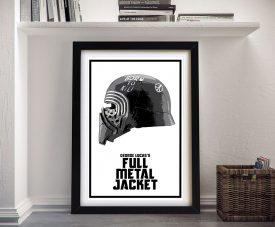 Kylo Ren Star Wars Helmets Framed Wall Art