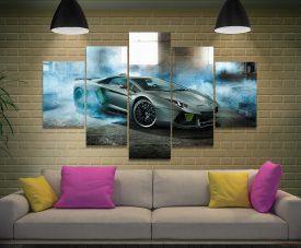 Buy a Lamborghini 5-Panel Split Canvas Set