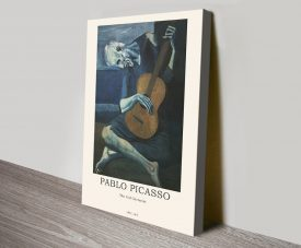vOld Guitarist Picasso Modern Composition