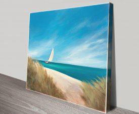 Sunday Sail Canvas Seascape Artwork