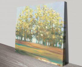 Aspen Grove l Landscape Print on Canvas