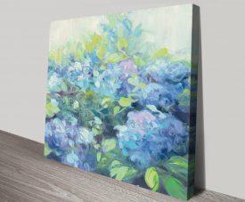 Bright Hydrangea ll Pretty Floral Artwork