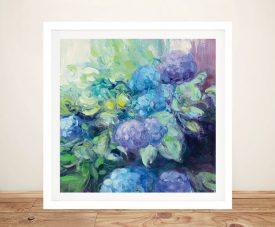 Bright Hydrangea lll Affordable Floral Art