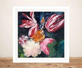 Floral Fun ll High-Quality Print on Canvas