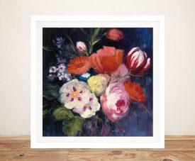 Fresh Cut Floral Fine Art Print on Canvas
