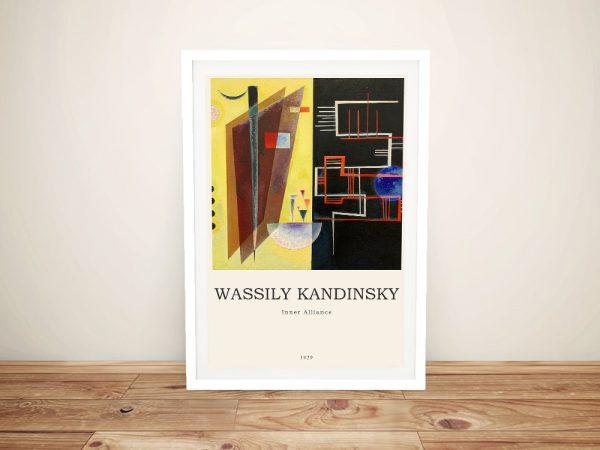 Inner Alliance Framed Kandinsky Composition