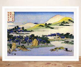 Landscape of Ryukyu Japanese Canvas Art