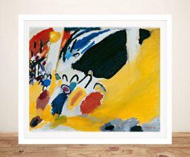 Impression lll Framed Kandinsky Wall Art