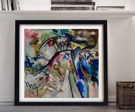 Improvisation 21A Kandinsky Abstract Art