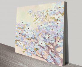Spring Dogwood l Floral Art on Canvas