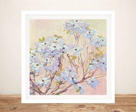 Spring Dogwood ll Framed Floral Art